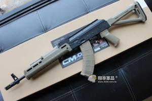【翔準軍品AOG】CYMA AK M-TYPE(M版 固定托) BK 全金屬 電動槍 MP款 新品上市 保固:30天