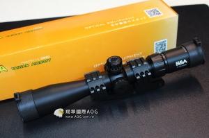 【翔準軍品AOG】S&A 頂級 3-9X40 耐震GBB 三面魚骨 狙擊鏡 瞄準鏡 高透光 SNA03ACA 保固
