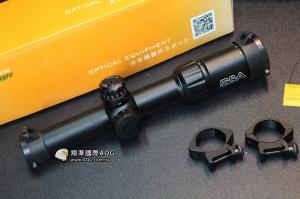 【翔準軍品AOG】S&A 頂級1.5-6X24SF 耐震GBB 狙擊鏡 高透光 SNA03AD