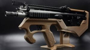 【翔準軍品AOG】SRU BASE ON WE GBB SCAR-L SYSTEM 犢牛式套件(黑色/沙色/綠色/藍色)