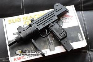 【翔準軍品AOG】KWC 最新版 UZI 烏茲衝鋒槍 CO2槍動力 金屬+塑料材質 後座力