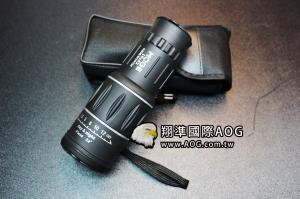 【翔準軍品AOG】M16x52單眼+防塵蓋 單筒 望遠鏡 高清 放大 演唱會 登山 U-001-16C