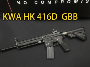 【翔準軍品AOG】(免運費))KWA HK416D GBB  授權刻字 KSC KWA UMAREX 瓦斯槍