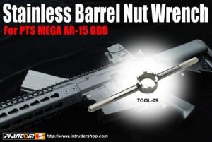 【翔準軍品AOG】警星 for KSC PTS MEGA AR15 / KWA KR 槍管固定環扳手 拆卸工具