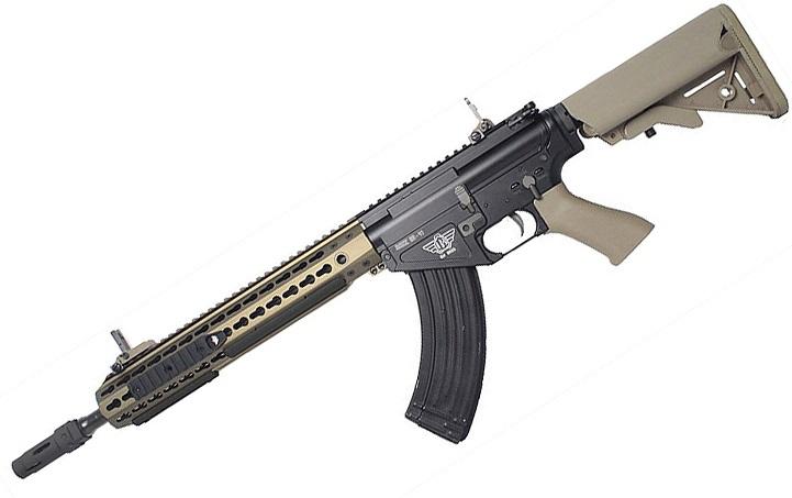 【翔準軍品AOG】 BOLT BR47 KEYMOD QDC 沙色 BOLT 後座力 電動槍 生存遊戲 步槍 卡賓槍