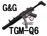 【翔準軍品AOG】【G&G】TGM-Q6 電動槍 怪怪 魚骨 滅音管 準心 護木 拉柄 鏡軌 彈匣 槍托 高扭力 馬達 CGG-TGM-Q6
