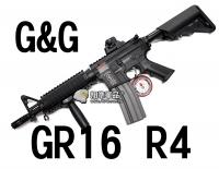 【翔準軍品AOG】【G&G】GR16 R4 電動槍 怪怪 魚骨 準心 護木 拉柄 鏡軌 彈匣 槍托 高扭力 馬達 CGG-GR16-R4