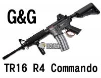 【翔準軍品AOG】【G&G】TR16 R4 電動槍 怪怪 魚骨 準心 護木 拉柄 鏡軌 彈匣 槍托 高扭力 馬達 CGG-GR16-R4