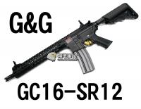 【翔準軍品AOG】【G&G】GC16 SR12 電動槍 怪怪 魚骨 準心 護木 拉柄 鏡軌 彈匣 槍托 CGG-M4