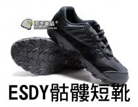 【翔準軍品AOG】ESDY 戰鬥鞋 軍靴 戰鬥靴 運動鞋 運動靴 工作鞋 短版 登山 露營 骷髏靴  靴子 H0129