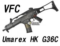 【翔準軍品AOG】【VFC】Umarex HK G36C  黑色 瓦斯槍  免運費  衝鋒槍 VF2-LG36C-BK01