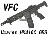 【翔準軍品AOG】【VFC】Umarex HK416C GBBR 黑色 瓦斯槍  免運費  衝鋒槍 VF2-LHK416C-BK01
