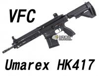 【翔準軍品AOG】【VFC】Umarex HK417 GBBR 黑色 瓦斯槍  免運費  衝鋒槍 VF2-LHK417-BK01