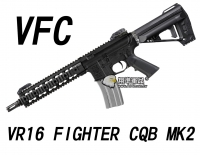 【翔準軍品AOG】【VFC】VR16 FIGHTER CQB MK2 電動槍  免運費 VF1-M4_FT2_S-BK01