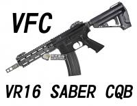 【翔準軍品AOG】【VFC】VR16 SABER CQB 黑色 瓦斯槍  免運費  衝鋒槍 VF2-M4_SABER_S-BK01