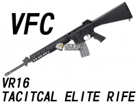 【翔準軍品AOG】【VFC】VR16 TACITCAL ELITE RIFE 電動槍 狙擊槍 免運費 VVF1-M4_TE_L-BK01