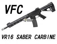 【翔準軍品AOG】【VFC】VR16 SABER CARBINE黑色 瓦斯槍  免運費  衝鋒槍 VF2-M4_SABER_M-BK01