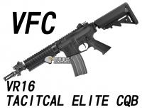 【翔準軍品AOG】【VFC】VR16 TACITCAL ELITE CQB 電動槍  免運費 VF1-M4_TE_S-BK01