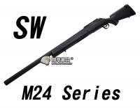 【翔準軍品AOG】【SW】M24 狙擊步槍 手拉狙擊槍 M24A2 雷明登 海軍陸戰隊 生存遊戲 阿富汗 軍用型DA-SW04BK