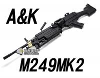 【翔準軍品AOG】【A&K】M249班用自動武器 MK2 輕機槍 美軍 MOD0 伊拉克 輕量化機槍 生存遊戲 電動槍 MK48 DA-GY-