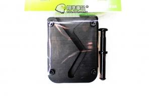 【翔準軍品AOG】神龍 SLONG 戰術快速滑軌 長槍套 (金屬板) 黑色 M4 槍背帶 攜行袋 SL-01-01A