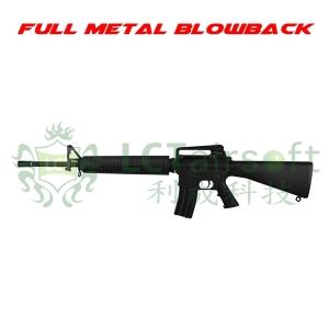 【翔準軍品AOG】 LCT LR16A3 EBB 全金屬 電動槍 M4 伸縮槍托 長槍管 戰術版