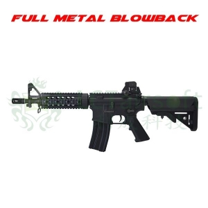 【翔準軍品AOG】LCT LR4-CQB EBB 全金屬 電動槍 M4 伸縮槍托 短槍管 戰術版