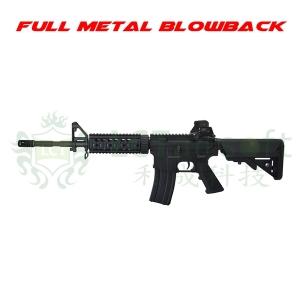 【翔準軍品AOG】LCT LR4-RIS7 EBB 全金屬 電動槍 M4 伸縮槍托 長槍管 戰術版