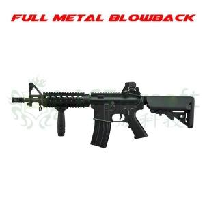 【翔準軍品AOG】LCT L4-CQB EBB 全金屬 電動槍 M4 伸縮槍托 短槍管 戰術版
