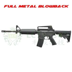 【翔準軍品AOG】LCT L4-A1 EBB 基本款 M4 圓護木 伸縮槍托 經典款 金屬提把
