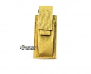 【翔準軍品AOG】尼色 手槍單連 彈匣袋 手槍 彈匣套 生存遊戲 槍帶 槍箱 瓦斯槍 X0-10-7ZC