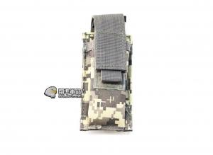 【翔準軍品AOG】ACU 手槍單連 彈匣袋 手槍 彈匣套 生存遊戲 槍帶 槍箱 瓦斯槍 X0-10-7ZD