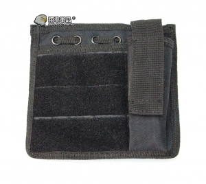 【翔準軍品AOG】黑色 地圖袋  手機包 錢包 戰術背心周邊包 所電筒 彈匣 X0-15-1