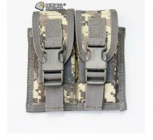 【翔準軍品AOG】ACU 手槍雙連彈匣袋 手槍 彈匣套 掛腰 榴彈包 戰術背心 周邊配件 X0-10-7C