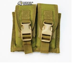 【翔準軍品AOG】尼色 手槍雙連彈匣袋 手槍 彈匣套 掛腰 榴彈包 戰術背心 周邊配件 X0-10-7B