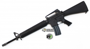 【翔準軍品AOG】WE M16A3 電動槍 EBB 全金屬 固定托 強磁馬達 電動長槍 D-06-3-16