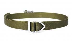 【翔準軍品AOG】綠色 大三角頭 腰帶 S腰帶 保全 特勤 登山 休閒 戰術腰帶 P903AB