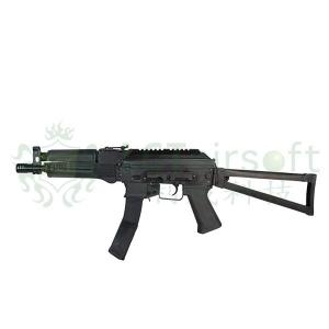 【翔準軍品AOG】LCT PP-19-01 AEG 頂級電動槍 EBB 全鋼製 雙匣版 折托 鏡橋