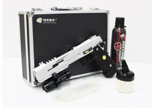 【翔準軍品AOG】室內殺手 CQB 全配 WE 7吋龍 A/B版 黑/銀色  BB彈 瓦斯 填彈器 戰術槍燈 槍箱