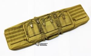 【翔準軍品AOG】*無法超取*120公分 尼色 雙槍包 機槍帶 狙擊槍 瓦斯槍 電動槍 槍箱 周邊配件 P0507ZIS