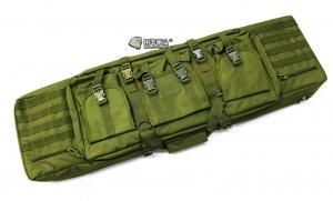 【翔準軍品AOG】*無法超取*107公分 軍綠 雙槍包 機槍帶 AK M4 瓦斯槍 電動槍 槍箱 周邊配件 P0507ZI