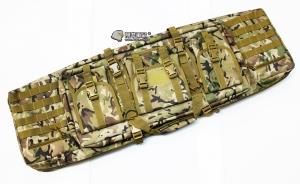 【翔準軍品AOG】*無法超取*107公分 CP 雙槍包 機槍帶 AK M4 瓦斯槍 電動槍 槍箱 周邊配件 P0507ZG