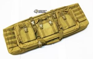 【翔準軍品AOG】*無法超取*92公分 尼色 雙槍包 機槍帶 M4 G36 瓦斯槍 電動槍 槍箱 周邊配件 P0507ZB