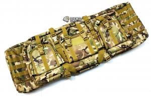 【翔準軍品AOG】*無法超取*92公分 CP 雙槍包 機槍帶 M4 G36 瓦斯槍 電動槍 槍箱 周邊配件 P0507ZE