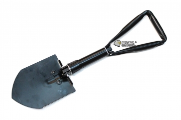 【翔準軍品AOG】大號鐵鍬鏟 摺疊款 露營 登山 休閒 生活 種花 鬆土 救災 鋸齒LG070A