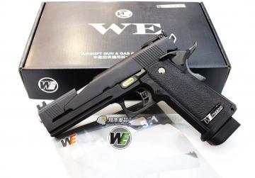【翔準軍品AOG】WE 5吋龍 黑色 A款 瓦斯槍 5.1 手槍競技版 精裝版 D-02-47