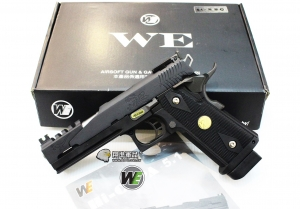 【翔準軍品AOG】WE 5吋龍 黑色 B款 瓦斯槍 5.1 手槍競技版 精裝版 D-02-04