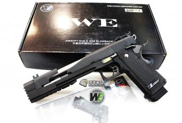 【翔準軍品AOG】WE 7吋龍 黑色 A款 瓦斯槍 HI CAPA 競技版 精裝版 D-02-05