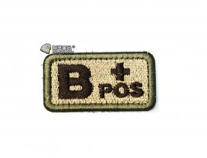 【翔準軍品AOG】B+POS 血型 臂章 徽章 勳章 識別 生存 標誌 休閒 戶外 登山
