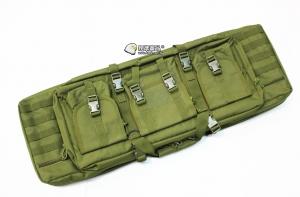 【翔準軍品AOG】*無法超取*92公分 軍綠 雙槍包 機槍帶 M4 G36 瓦斯槍 電動槍 槍箱 周邊配件 P0507B